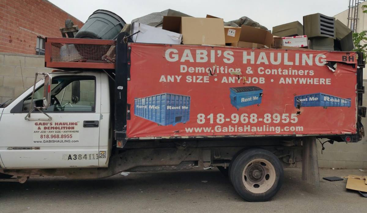 Gabis Hauling In Los Angeles