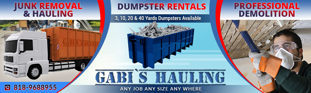 Hauling & junk Removal Services Los Angeles